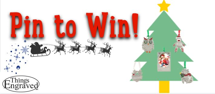 Pin to WIN 1 of 2 Christmas Ornament Gift Sets!  Enter #Contest here: http://bit.ly/VgkB4J