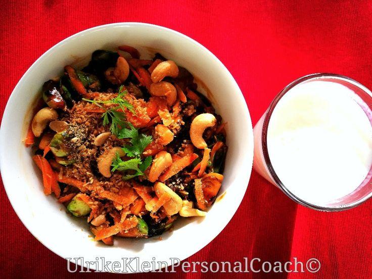 Recept voor heerlijke gewokte #spruitjes op mijn blog!