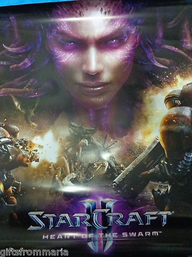 StarCraft 2 Heart of the Swarm Big glossy Poster