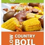 The Low Country Boil from our Vacation Plan