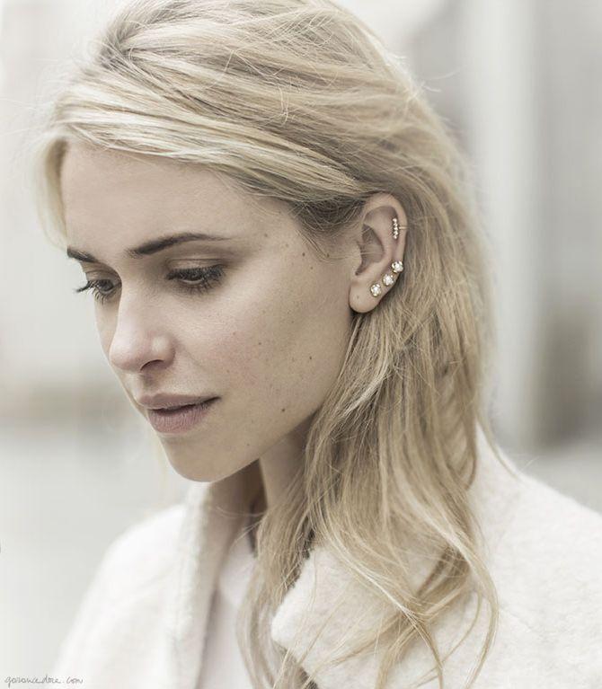 Three piercings bijoux fantaisie tendance et idées cadeau femme à prix mini