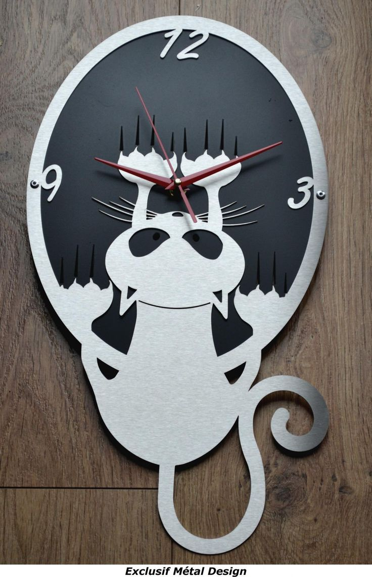 les 25 meilleures id es de la cat gorie horloge murale originale sur pinterest horloges. Black Bedroom Furniture Sets. Home Design Ideas