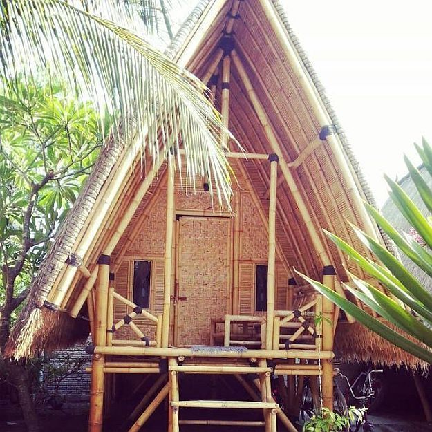 Bale Kampung-Bamboo 2 | 30 Marvelously Beautiful Airbnbs Around the World