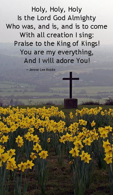 Holy, Holy, Holy  God Is! Follow us at http://gplus.to/iBibleverses