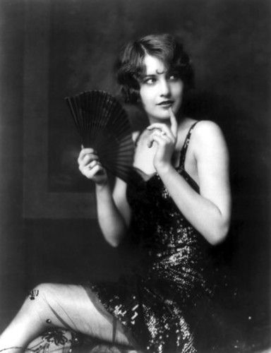 That's no flapper, that's Barbara Stanwyck! Famous & influential flappers in Mental Floss magazine