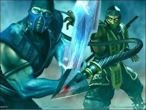 Sub-Zero and Scorpion