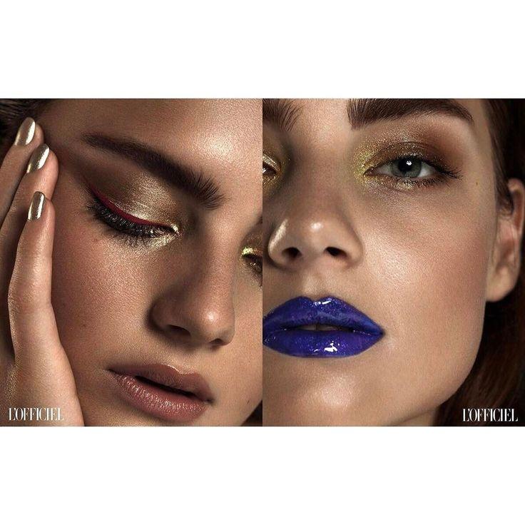 Increíble el último trabajo del maquillador Adrián Rux para LOfficiel Brasil. Aprende junto a profesionales como Adrián en el Curso Superior Universitario de Perfeccionamiento en Maquillaje.