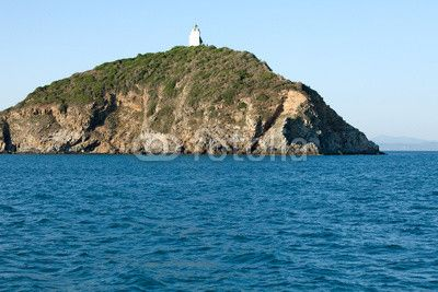 Stock photo available for sale at Fotolia: View Of Palmaiola Island