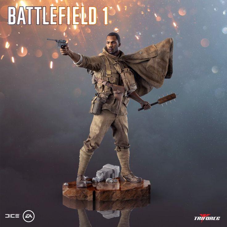Badass Battlefield 1 statue by TriForce.