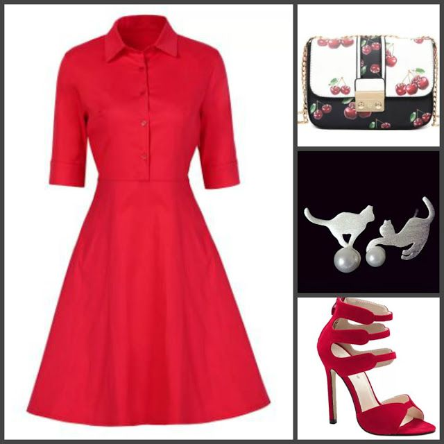 ©Бусинка: Red style with Dresslily. My wishlist.