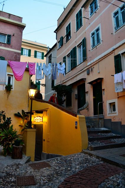 Boccadasse by va_sco, via Flickr - Liguria