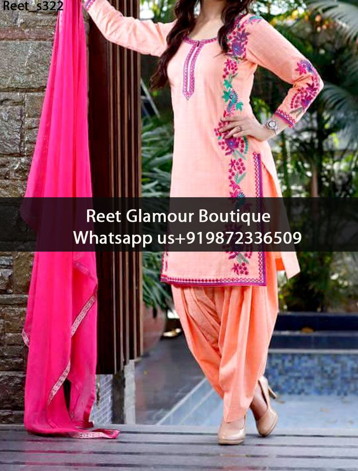 Marvelous Light Coral Embroidered Punjabi Suit Product Code : Reet_s322 To Order, Call/Whats app On +919872336509 We Offer Huge Variety Of Punjabi Suits, Anarkali Suits, Lehenga Choli, Bridal Suits,Sari, Gowns Etc .We Can Also Design Any Suit Of Your Own Design And Any Color Combination.