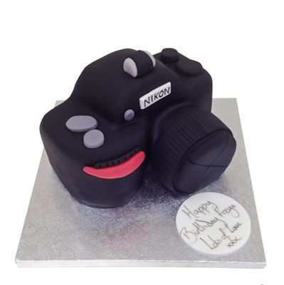 Camera Cake - £79.95 - Buy Online, Free UK Delivery