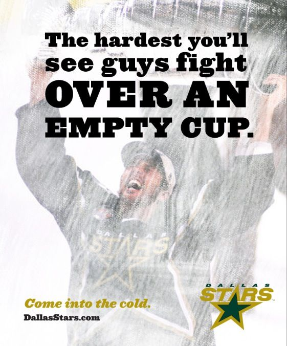 Dallas Stars Hockey  Fight, baby Fight! Dallas needs the cup back!
