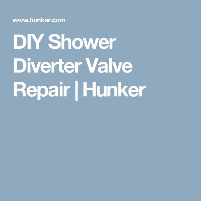 DIY Shower Diverter Valve Repair | Hunker