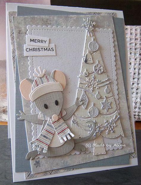 Te leuk de muisjes van Eline, ik moest ze hebben; en ook dit kerstboompje van Gummiapan (nooit van gehoord, een merk uit Zweden) gekocht ...
