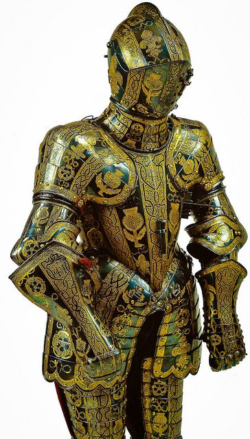 (Stuart, not Tudor, but close enough) The Armour of Henry, Prince of Wales, 1608 at Windsor Castle England