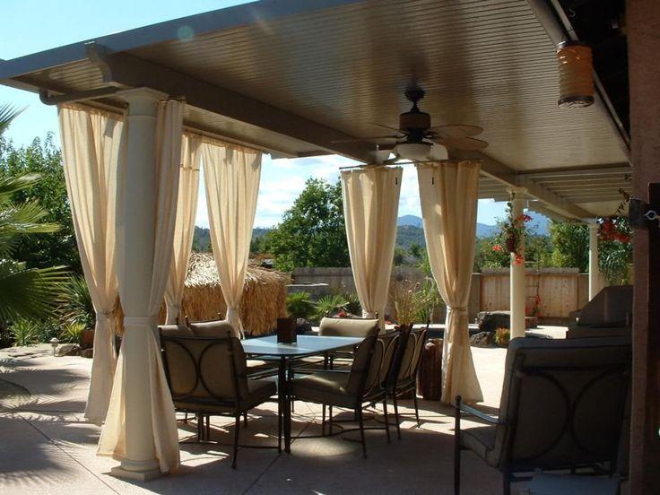 Patio Cover Wood best 25+ aluminum patio covers ideas on pinterest | metal patio
