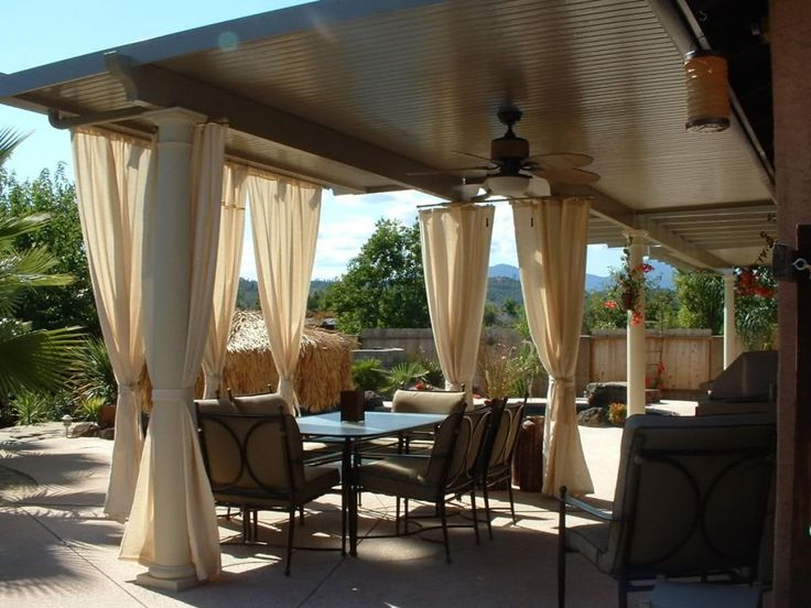 Adding Covered Patio : 25 Best Ideas About Aluminum Patio Covers On  Pinterest Metal