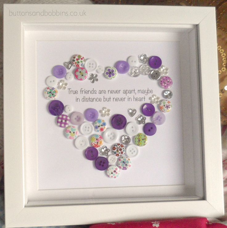 True Friends Never Apart Button Picture Heart Friend Christmas Gift Friendship by ButtonsandBobbinsUK on Etsy https://www.etsy.com/listing/254951821/true-friends-never-apart-button-picture