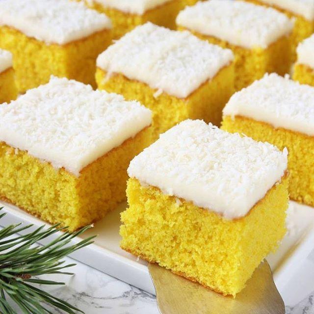 ◀️Receptlänk! Saffranskärleksmums med citronglasyr & kokos😍😍😍! Kärlek❤️! Recept: http://tidningenhembakat.se/bloggar/lindas-bakskola/saffrankarleksmums/