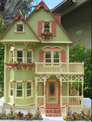 Tennyson Dollhouse- I scored a Tennyson at the thrift store today for $30 I want to completely remodel it