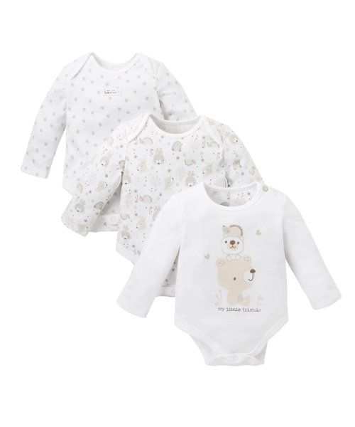 Bear and Friends Bodysuits http://www.parentideal.co.uk/mothercare---baby-clothes.html