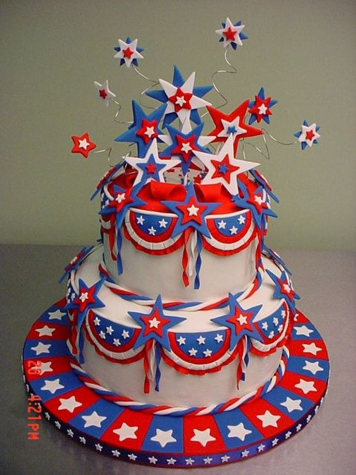 25+ Best Ideas about 4th Of July Cake on Pinterest 4th ...