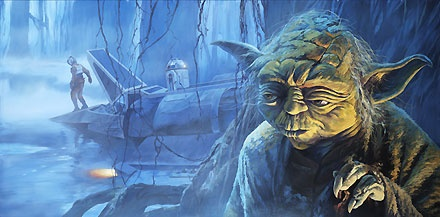 Star Wars - Anticipation of Hope - William Silvers - World-Wide-Art.com - $175.00 #StarWars #Lucas