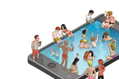 Ligar en tiempos modernos. La tecnología ha revolucionado el arte de la seducción. Las aplicaciones móviles, con Tinder a la cabeza, son el nuevo terreno de juego para la búsqueda de sexo y relaciones. Virginia Collera | El País, 2015-10-28 http://elpais.com/elpais/2015/10/23/eps/1445602424_708600.html