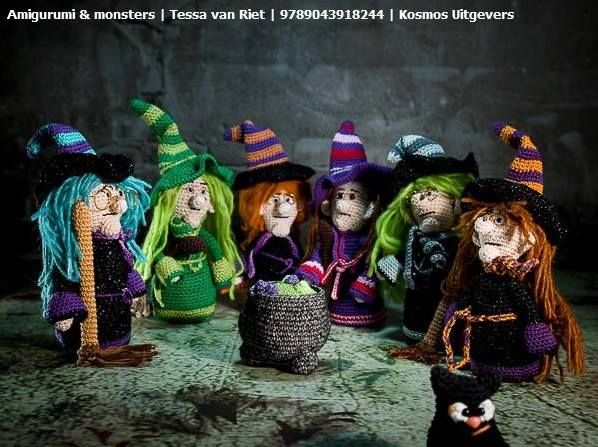 Amigurumi Monsters Boek : 1000+ images about Kosmos Creatief loves Knitting and ...