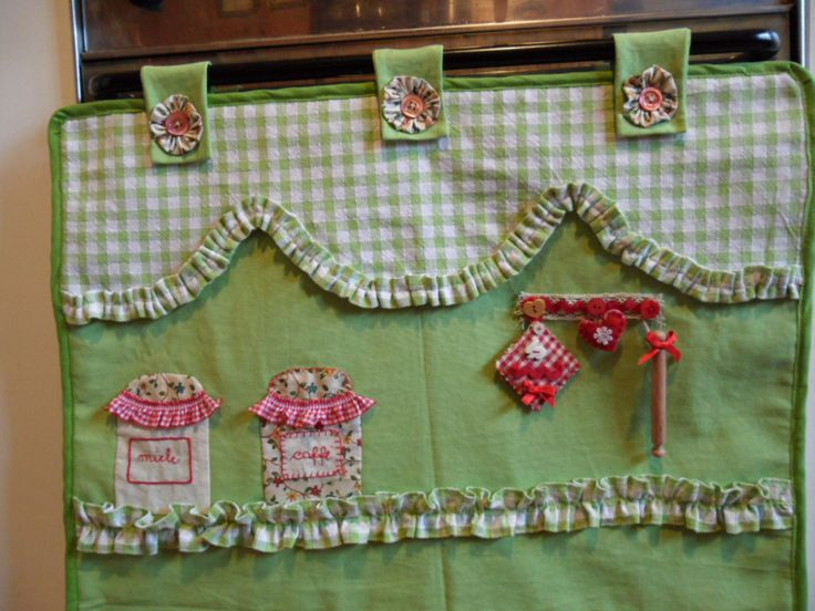 583 best cucito creativo images on pinterest patchwork crafts and curtains - Patchwork para cocina ...