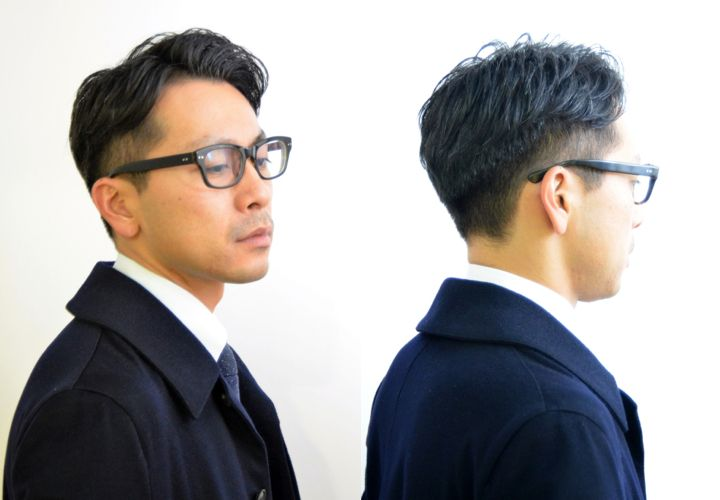 40代でしたい髪型メンズ ビジネスで使えるヘアスタイル 10選
