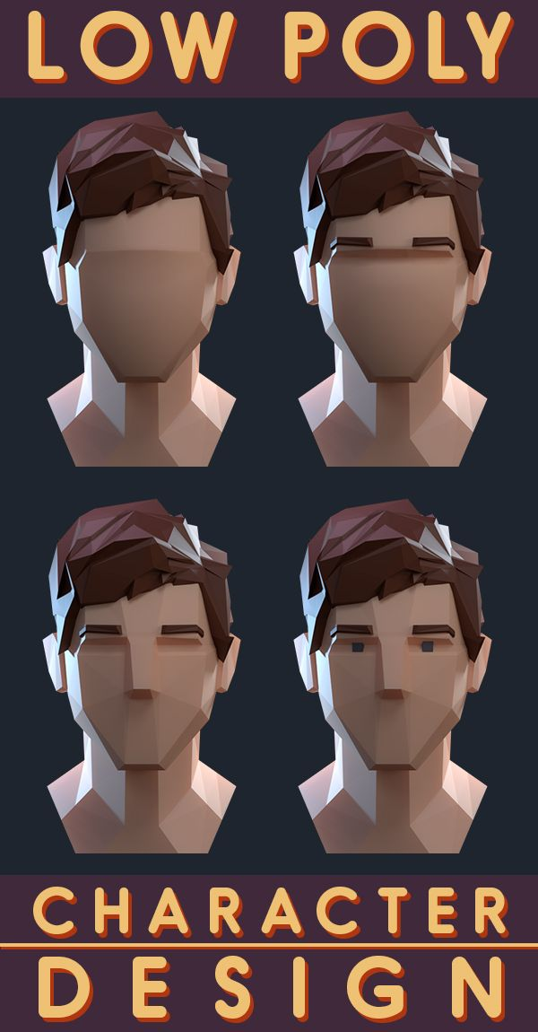Low Poly Character Design Tutorial