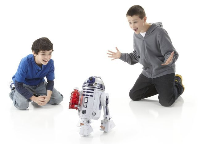 Star Wars R2-D2 Interactive Astromech Voice Activated Droid //coolpile.com/gear-magazine/get-your-own-voice-activated-r2-d2-interactive-droid/ via CoolPile.com - $176 -   Amazon.com, Cool, Gifts For Him, R2-D2, Star Wars, Toys