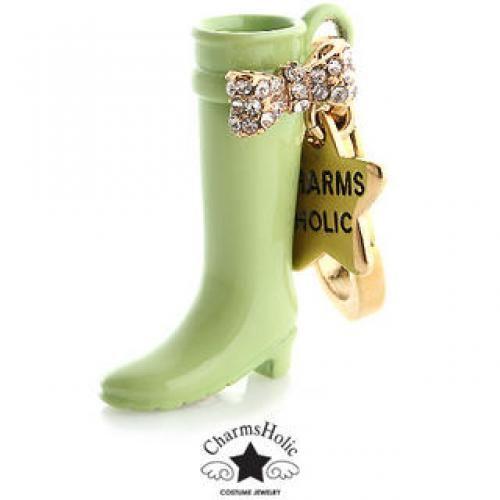 Swarovski Crystal-Accent Rain Boot Charm