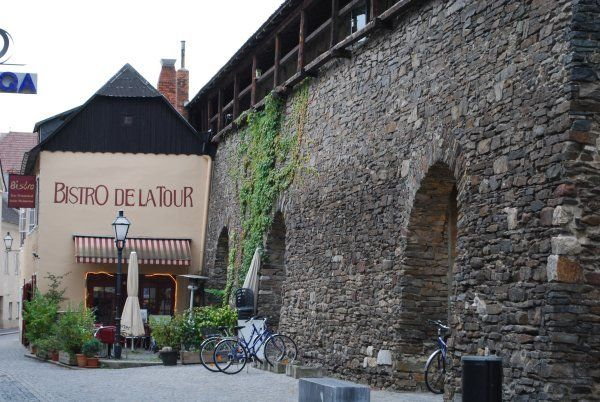 Cute French restaurant in Krems an der Donau