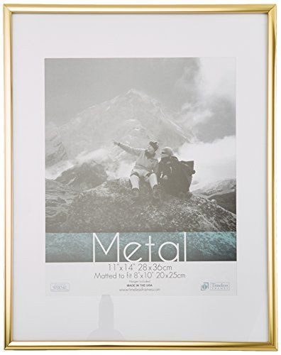 Timeless Frames Metal Wall Photo Frame, 11 by 14-Inch, Gold Timeless Expressions http://smile.amazon.com/dp/B007CKH1TY/ref=cm_sw_r_pi_dp_.M45wb1PWWNXB