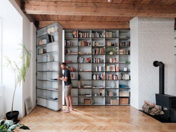 JRKVC studio  bibliothèque mobile