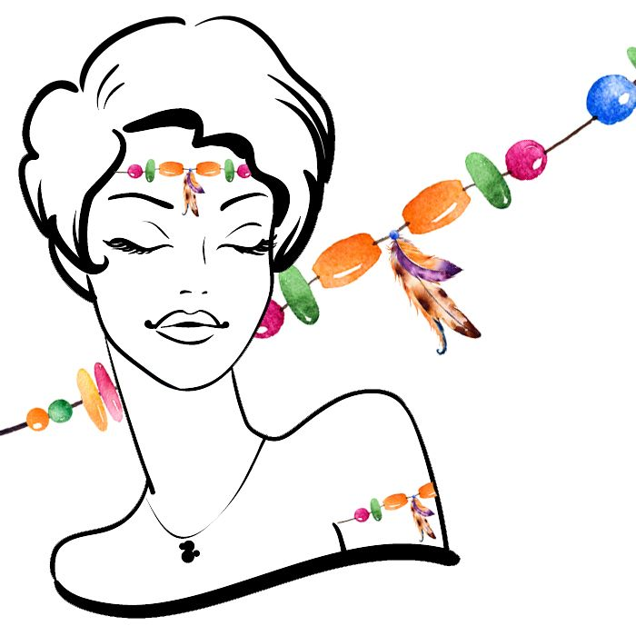 BohoHeadband or Armband TemporaryTattoos #51 (7 pack) *FREE SHIPPING* If you're buying tattoos only we would like to offer you Free Shipping. Use the discount code:...