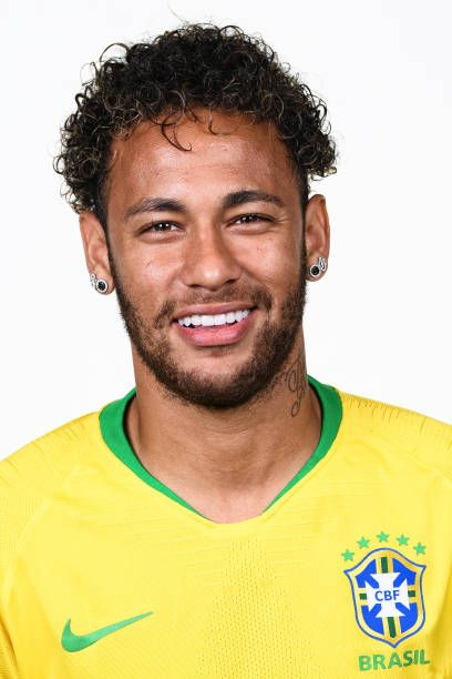 Neymar of Brazil poses for a portrait during the official FIFA World Cup  2018 portrait session at the Swissotel Resort Sochi Kamelia on June 12 435a7683c