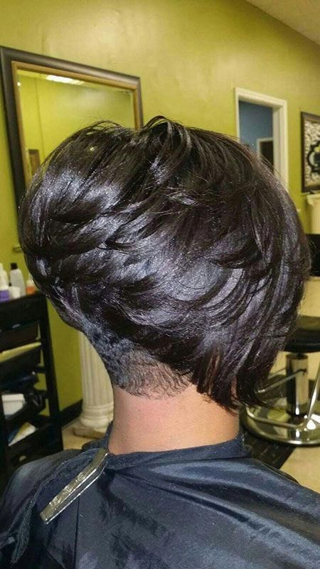 Cute Short Haircuts for Black Females #shorthaircutsforcurlyhair