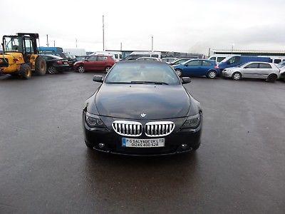 eBay: 2004 (54) BMW 645 CI 4.4 PETROL 6 SPEED AUTOMATIC SPARES OR REPAIRS #carparts #carrepair
