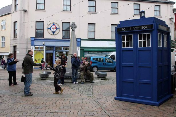 Doctor Who's TARDIS makes an appearance in North Wales - North Wales Weekly News