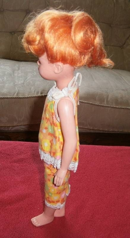Adorable orange / red haired Vintage Playmates doll - Hong Kong | eBay
