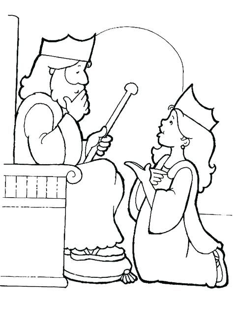 Coloring Page King Choose To Be His Queen Brave Pages