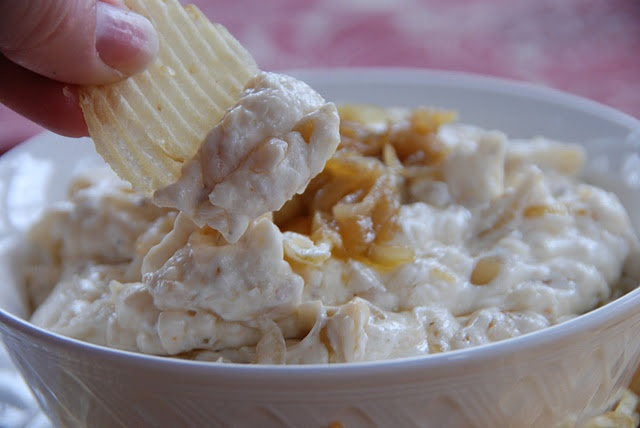 Caramelized Onion Dip. This stuff is THE best!