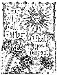 52 Best Images About Quote Coloring Pages On Pinterest