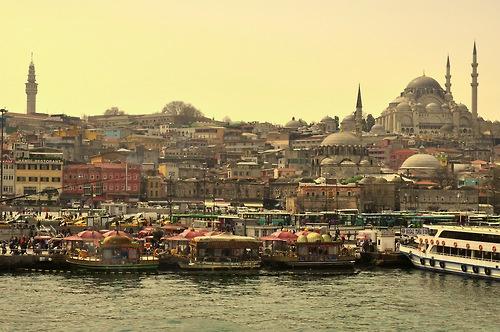 Busy Istanbul, Turkey
