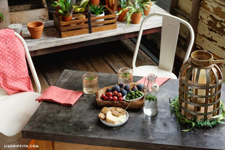 Follow my step-by-step photo tutorial and read about how I made a concrete table top to use in my living room. It is so easy to make one for your own home!